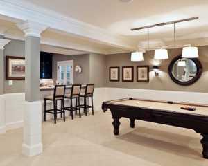 地下室桌球娱乐房设计