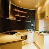 现代明朗别墅厨房装修效果图