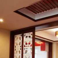 新中式别墅起居室装修效果图