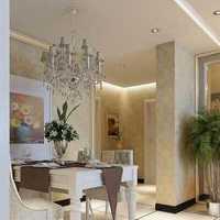 现代别墅清新通透起居室装修效果图