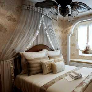 卧室吊床壁纸