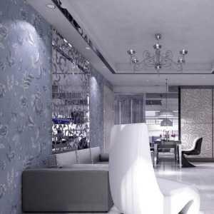 冷色调的温馨客厅