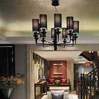 客厅家具美式田园沙发茶几装修效果图