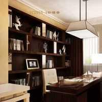 欧式复古高雅式书房装修效果图