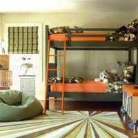 儿童房整体衣柜地毯壁纸装修效果图