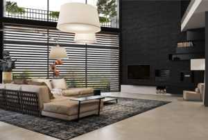 3個酷黑色風格家居裝修設計