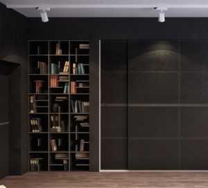 6个酷酷的黑色主题卧室设计