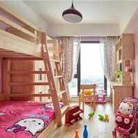 现代多功能儿童房紫色装修效果图