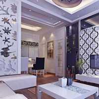 经济型北欧白色客厅装修效果图