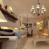 别墅现代客厅吊灯客厅沙发装修效果图