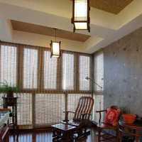 中式门厅地砖装修效果图