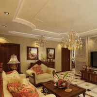 电视背景墙白色黄色现代吊顶简约客厅效果图
