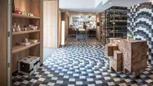 歐式風格豪華室內餐廳吊頂裝修效果圖
