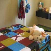 儿童交换空间儿童房双层装修效果图