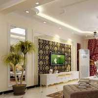 白咖相衬三居客厅墙面装修效果图
