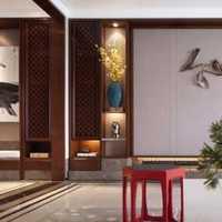 中式黑白经济型客厅装修效果图