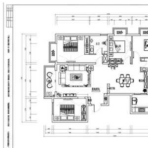 北京3万元装修90平新房子