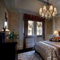 卧室70平米二居室田园装修效果图