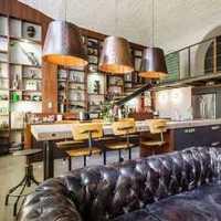 新古典别墅淡雅餐厅装修效果图