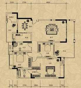 為融僑城房型圖做的設計