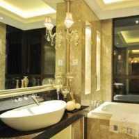 极简卫生间精装房子装修效果图