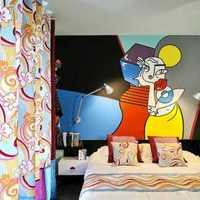 上海宝山的想装修房子66平米2室1厅风格喜