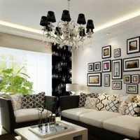沙發背景墻現代風格客廳電視背景墻效果圖