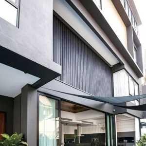 简朴不简单:雅致无限的现代时尚多层式住宅