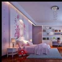 现代时尚女生卧室春色装修效果图