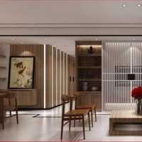 现代花架现代客厅样板房装修效果图
