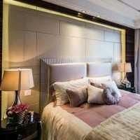 卧室家具双人窗帘卧室窗帘装修效果图