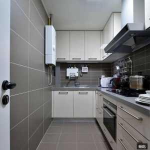80平米中式装修厨房效果图