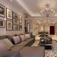 客厅电视墙壁纸墙贴装修效果图