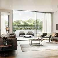 小户型客厅韩式二居装修效果图