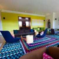 现代简约客厅沙发组合装修效果图