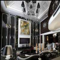 现代茶几样板房现代客厅装修效果图