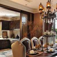 餐桌和玄关一体装修效果图