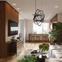 现代豪华复式住宅客厅装修效果图