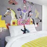 欧式一居室80平米灯具装修效果图