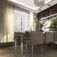 田园130平米餐厅温馨装修效果图