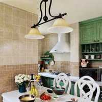 厨房橱柜柜门装修效果图