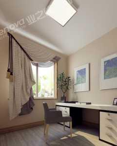 现代中式三居室厨房壁纸效果图