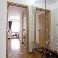 现代淋浴房马赛克背景墙装修效果图