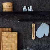 橡木整体厨房装修效果图