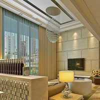 上海客厅中式装修效果图