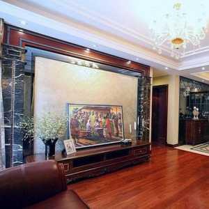 北京美式简装餐厅