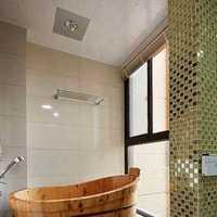 100平米裝修室內浴室效果圖