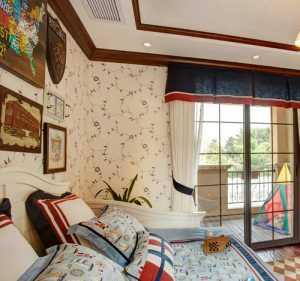 瑞祺室内设计——上林湖美式乡村样板间