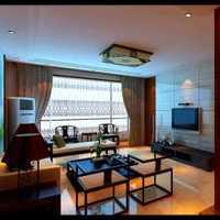 美式家居客廳軟裝修效果圖