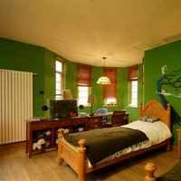 实木卧室大户型卧室推拉门装修效果图